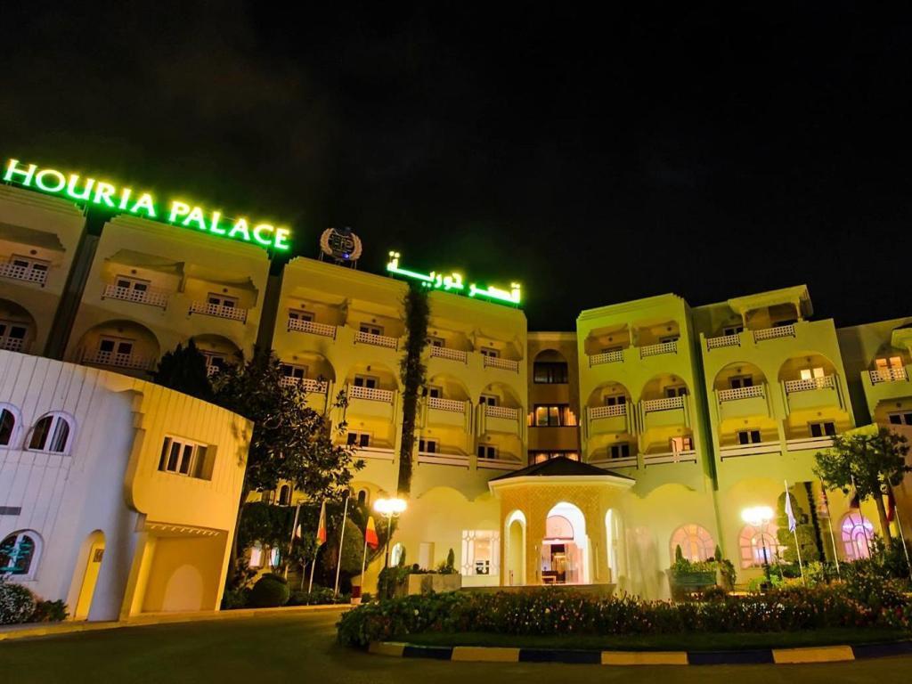 Houria Palace     ( l'hotel n'accepte pa les jeunes célibataires), Sousse