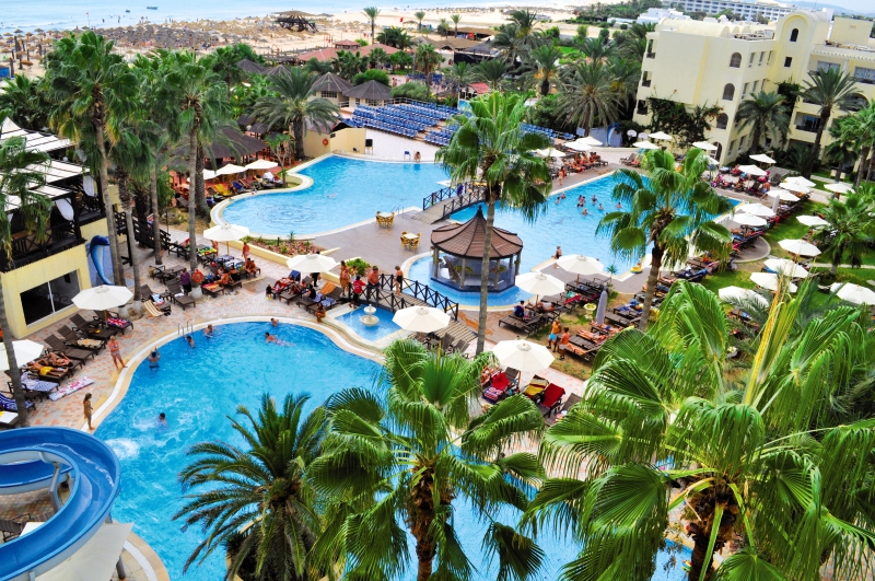 PARADIS PALACE ( couples et familles), Hammamet