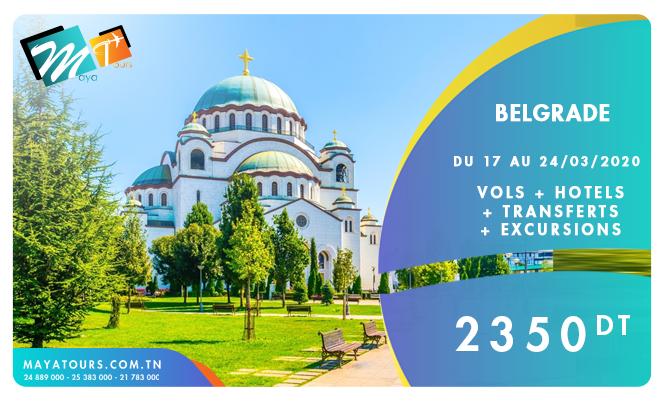 belgrade 17-24 mars 2020