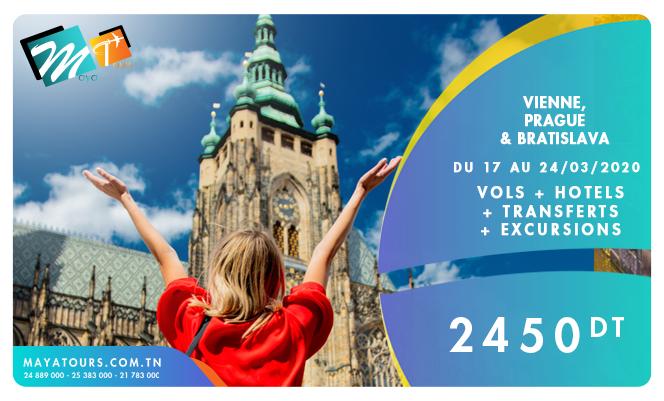 vienne prague 17-24 mars 2020