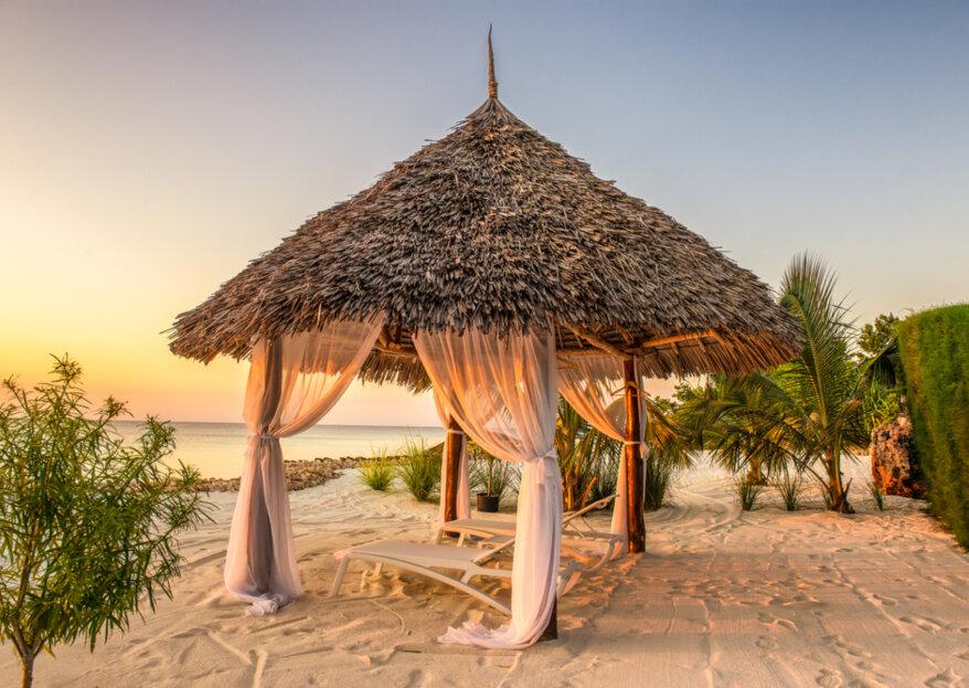 Voyage de noces a Zanzibar