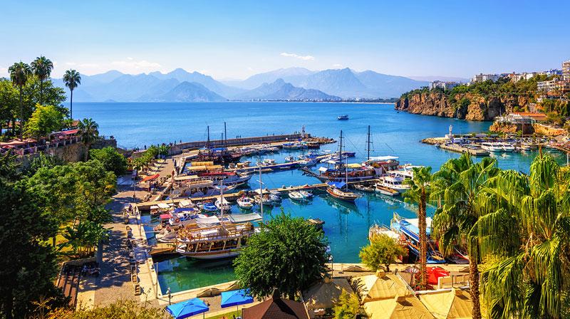 Voyage de noces à Antalya