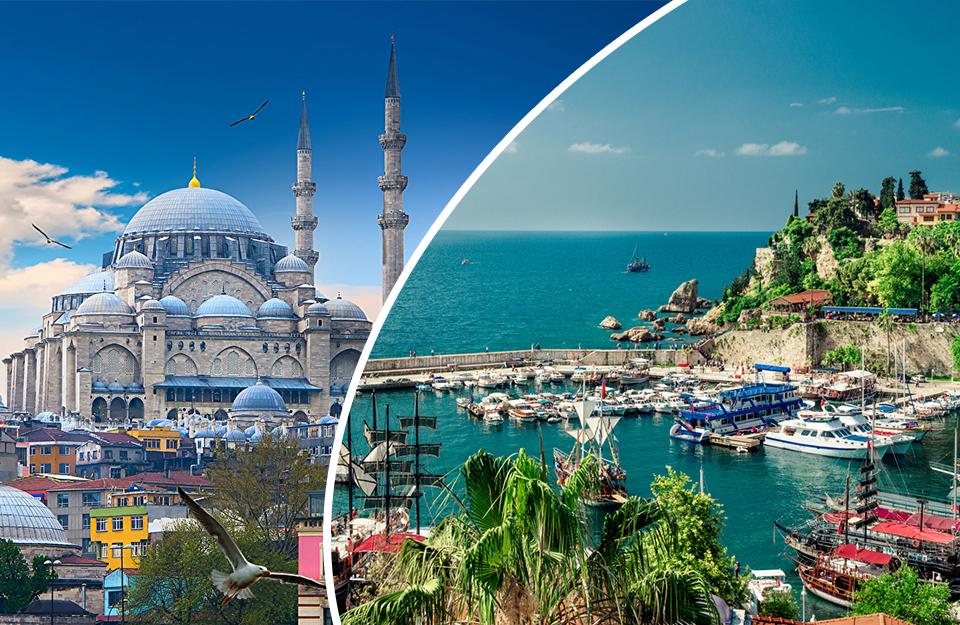 Combinés Antalya & Istanbul