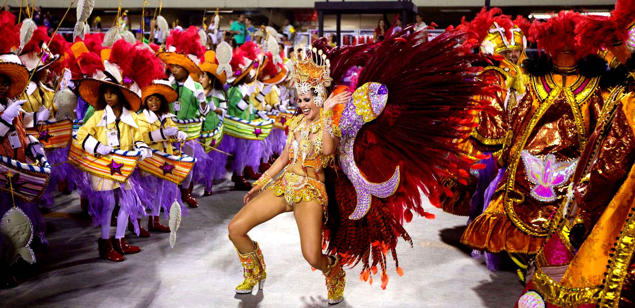 BRÉSIL Carnaval de Rio 2018