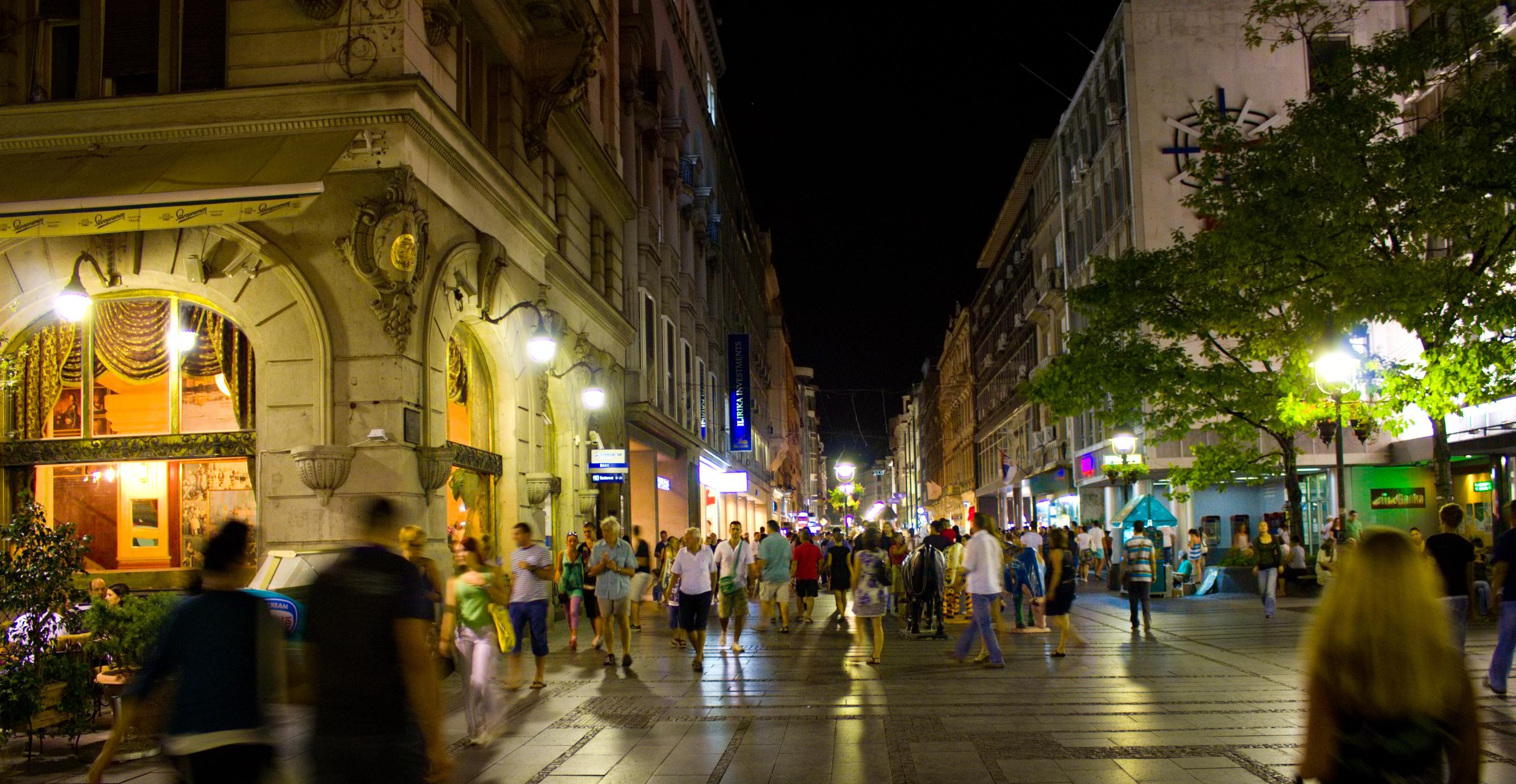 Spécial Shopping à Belgrade