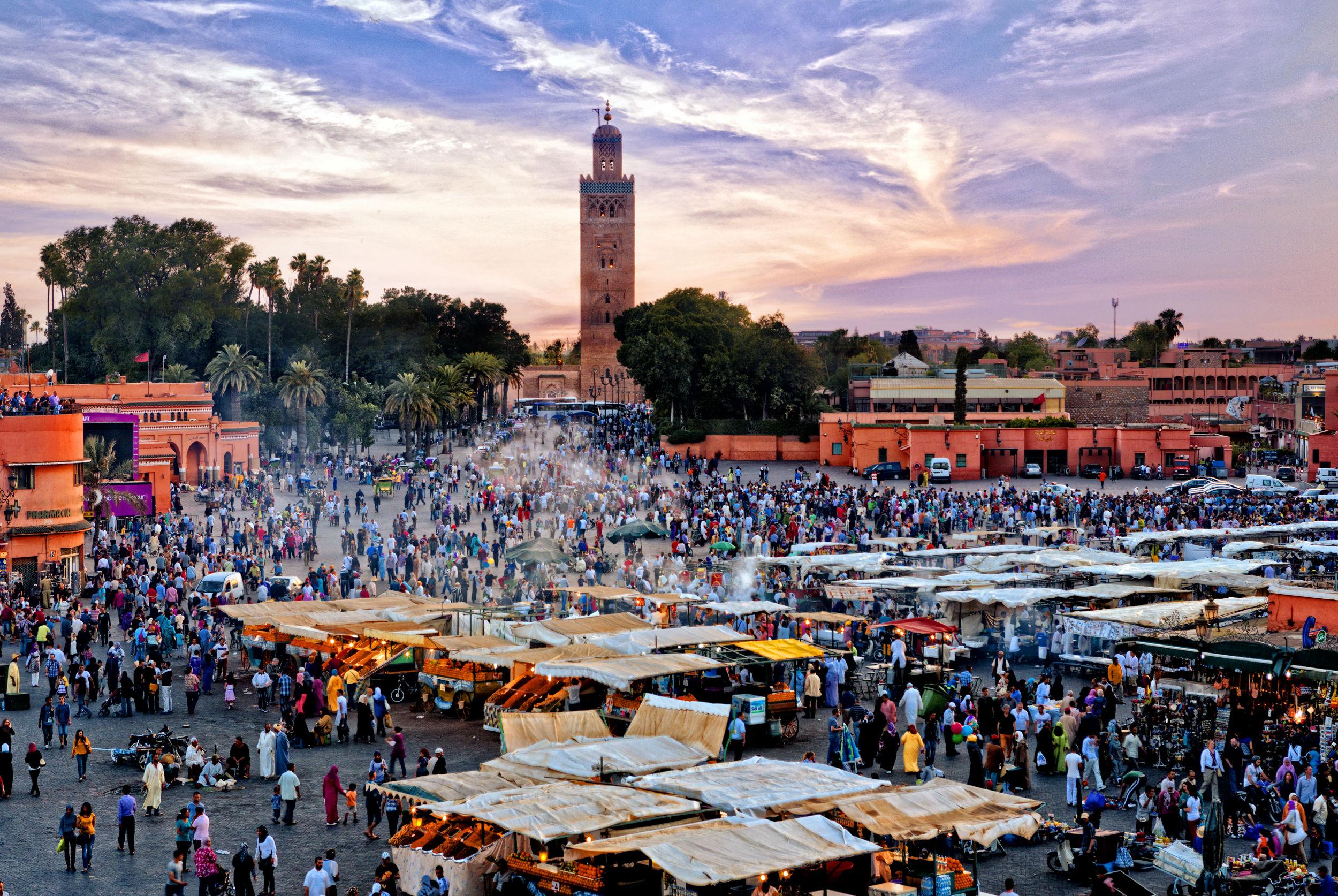 Casa, Rabat, Fes, Meknes & Marrakech