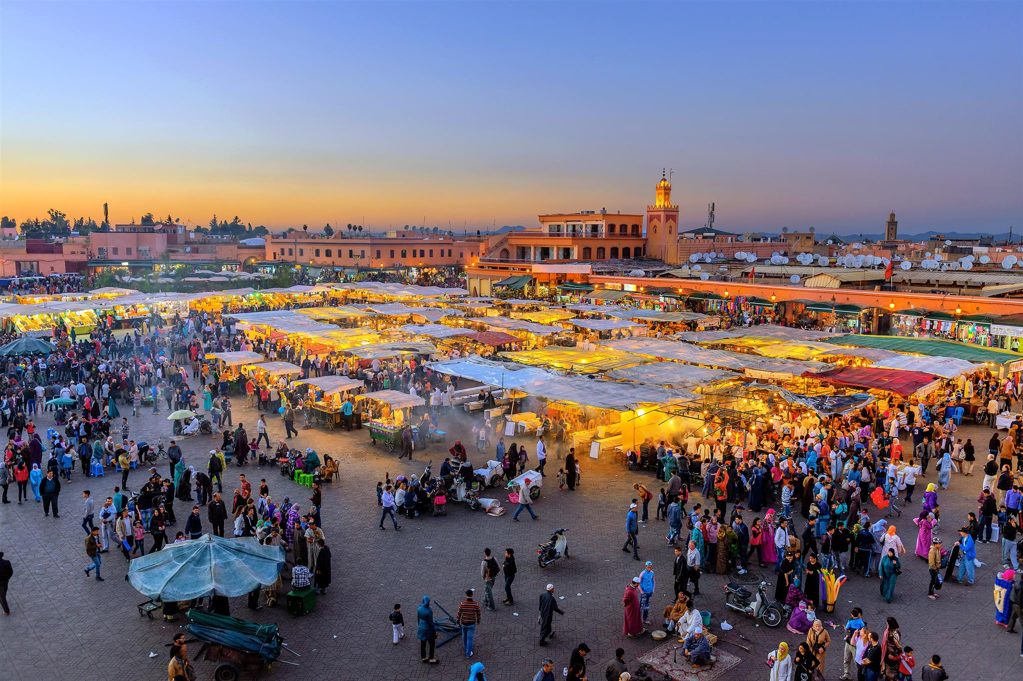 Casa & Marrakech