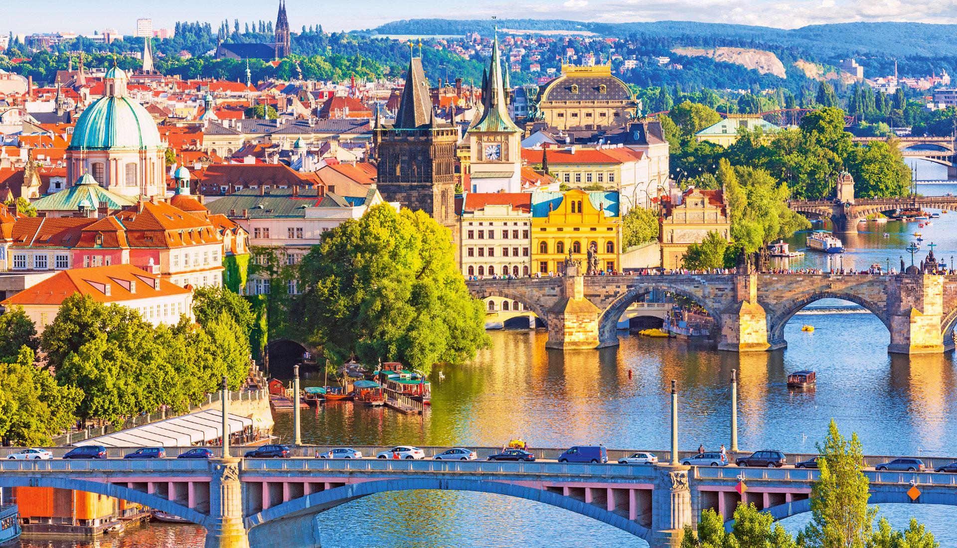 Vienne, Prague, Berlin & Bratislava