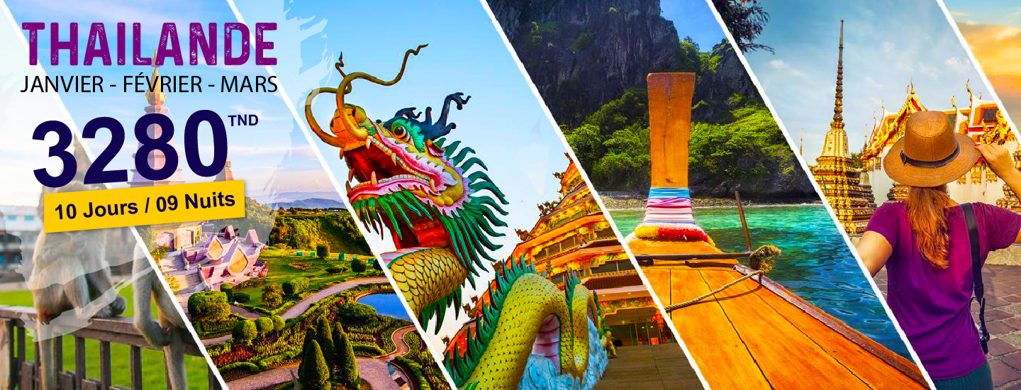 Thailand by touring travel