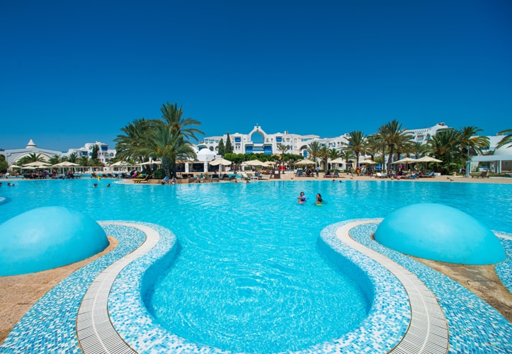 Mirage beach club, Hammamet