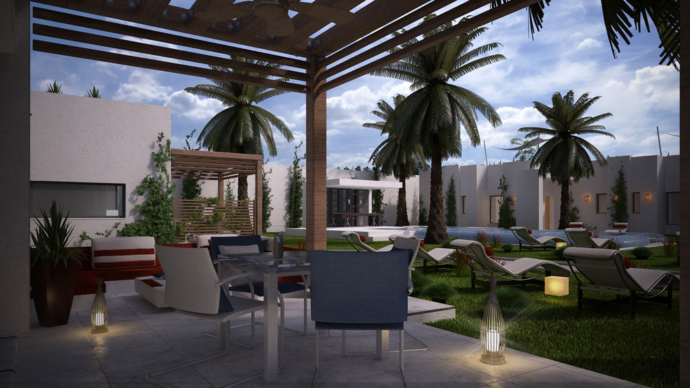 LTI Les Orangers Garden Villas & Bungalows, Hammamet